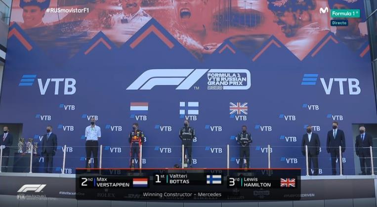 El podio de Sochi