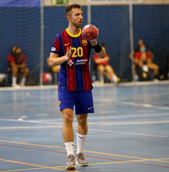 Aleix Gómez ha marcado cinco goles en la primera parte (Pep Morata/MD)