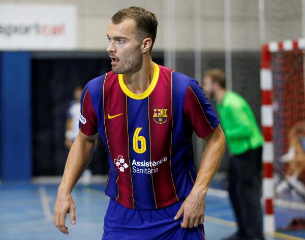Mortensen, extremo del Barça (Pep Morata/MD)