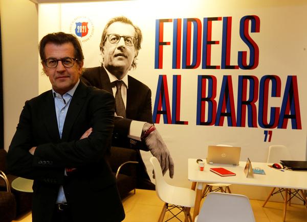 Toni Freixa, candidato a la presidencia del Barça