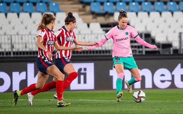 Caroline Graham Hansen, un incordio para el Atlético FOTO: FCB