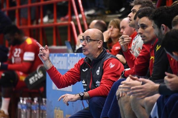 Jordi Ribera, seleccionador español (J. L. RECIO/RFEBM)