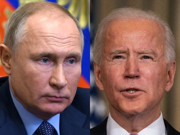 Russian President Vladimir Putin and US President Joe Biden