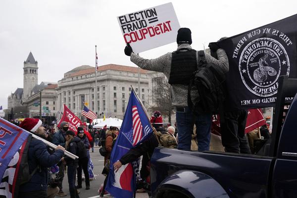 Protestors in Washington DC