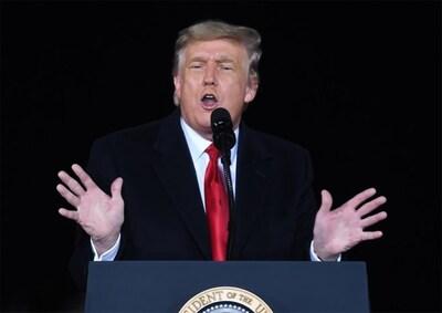 Is het nu 'over and out' voor Trump?