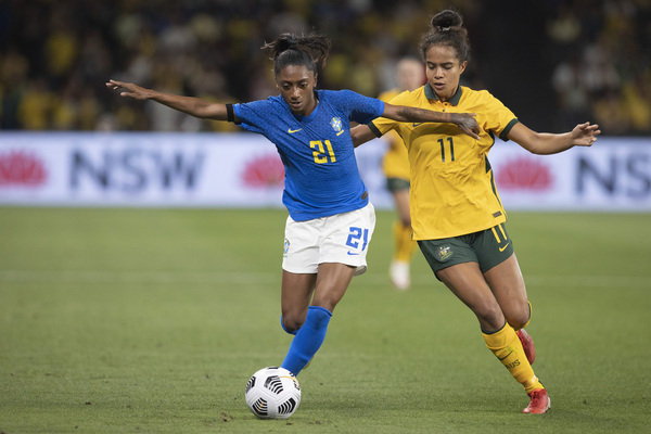 Live: Matildas look to go back-to-back against Brazil
