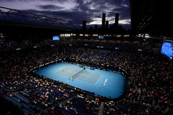 El Rod Laver Arena, con púbico, sobre un 75% FOTO: GETTY