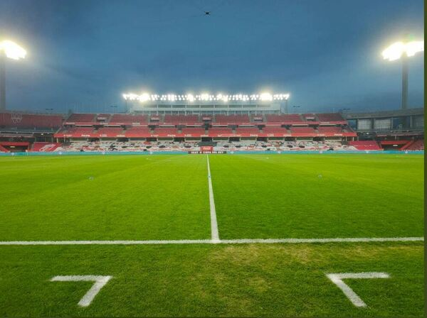 Todo preparado en el Nuevo Los Cármenes FOTO: FCB