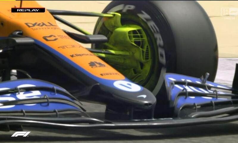 McLaren, con parafina en la suspensión delantera