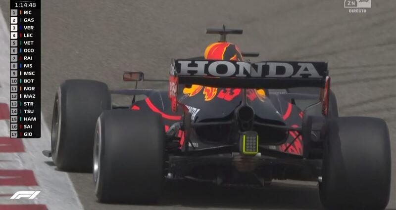 El fondo plano del RB16B de Verstappen