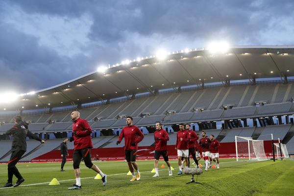 Ya nos llegan las primeras imágenes del Atatürk Olimpiyat, el estadio de Estambul donde se disputará el duelo.