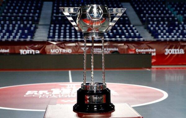 El trofeo de la Copa de España. La final, el domingo a las 21 horas