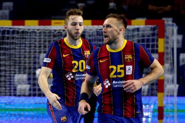 Aleix Gómez y Luka Cindric brillaron en cuartos (Efe)