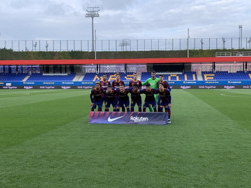 El once del Barça B ante el Llagostera