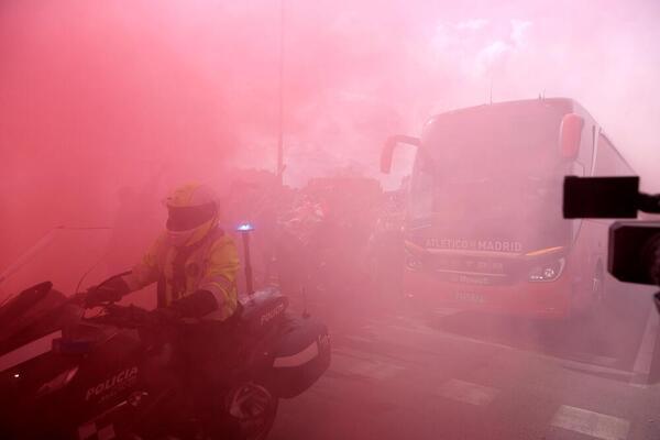 Así han recibido al Atlético de Madrid