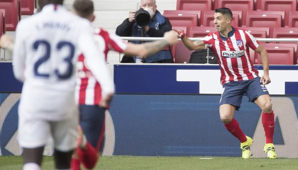 Vale el gol de Suárez en el Metrpolitano. Foto: J. A. Sirvent