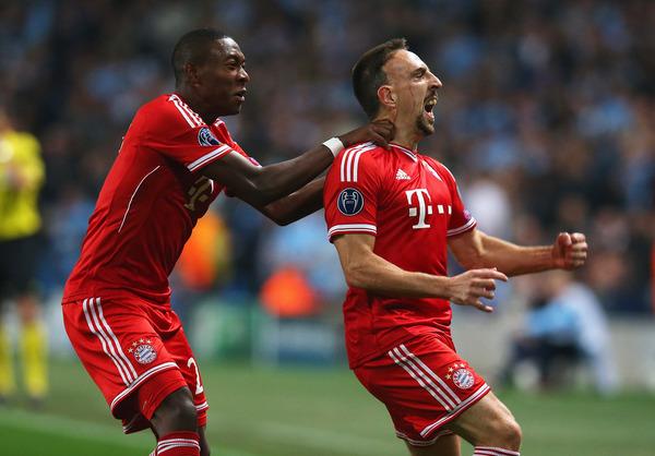 Alaba igualará a Ribéry como extranjero del Bayern con más partidos
