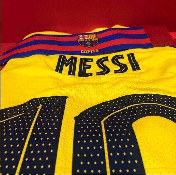 Brazalete de Leo Messi FOTO: FCB
