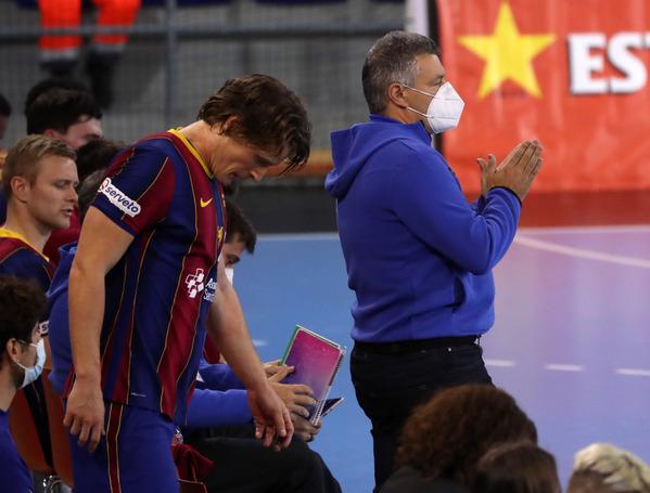 El técnico del Barça, Xavi Pascual (Pep Morata/MD)