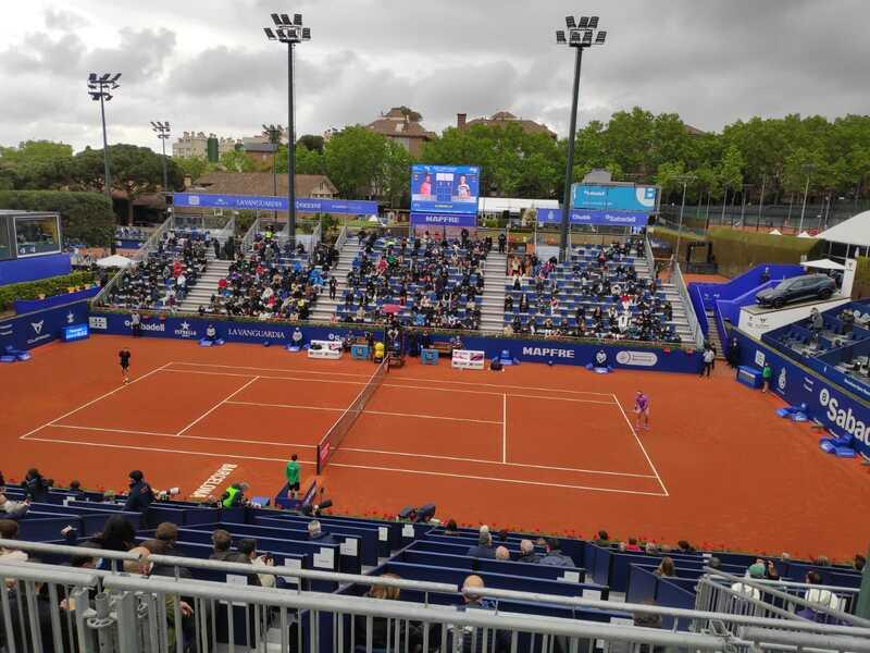 Así luce la Pista Rafa Nadal para ver el debut del tenista de Manacor (Ángel Rigueira)