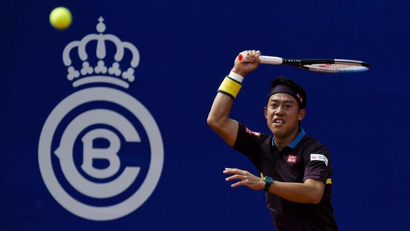 Kei Nishikori ha forzado el tercer set contra Rafa Nadal (Manel Montilla)