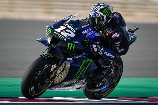 El ganador del GP de Qatar, Maverick Viñales, terminó en la 9ª posición en la sesión de libres del viernes.