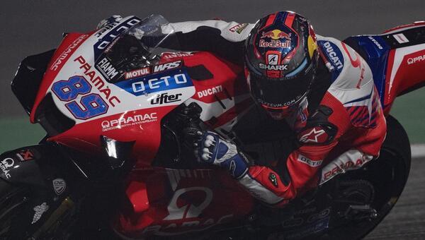 Jorge Martín saldrá desde la pole en la carrera del Gran Premio de Doha de mañana domingo.