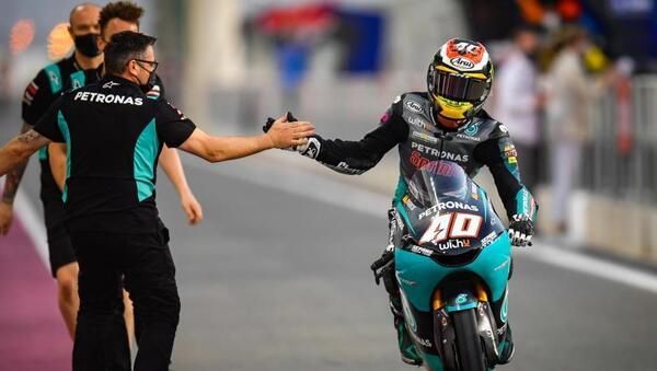 Darryn Binder fue el más rápido en la sesión de entrenamientos libres de ayer en Moto3