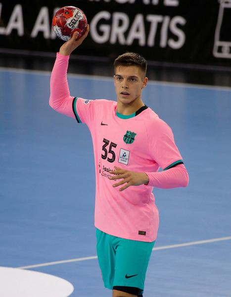 Domen Makuc, jugador del Barça (Pep Morata/MD)
