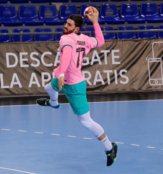 Ludovic Fàbregas, pivote del Barça (Pep Morata/MD)