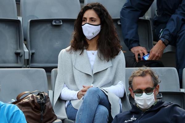 Mery Perelló, en Roma siguiendo a su marido. FOTO: GETTY