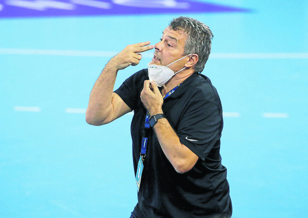 Xavi Pascual, entrenador del Barça (Pep Morata/MD)