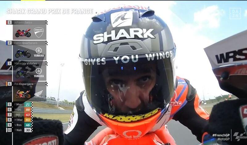 Johann Zarco,  mejor tiempo en la FP2 del GP de Francia de MotoGP