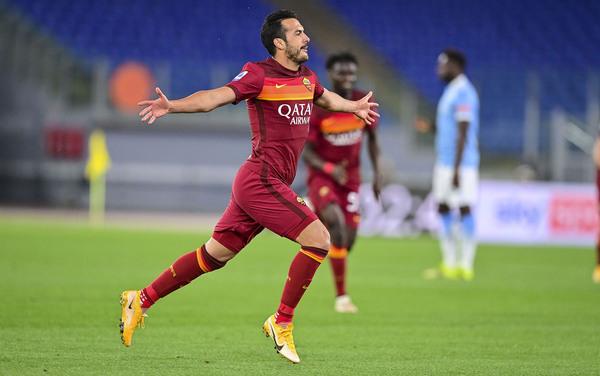 Pedro fissa il risultato sul 2-0, il Derby è giallorosso