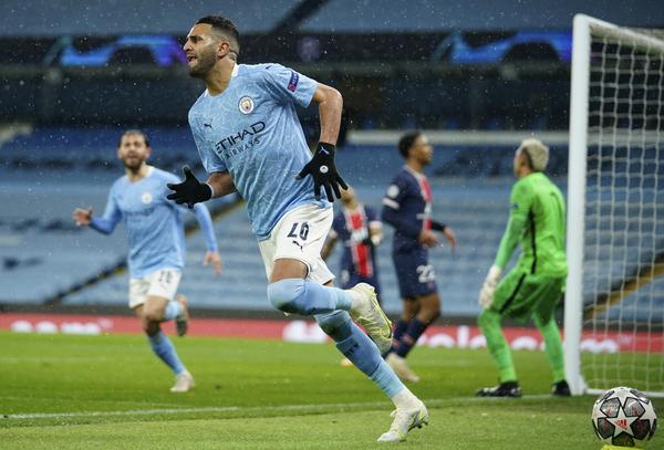 Mahrez ha guiado al City de Guardiola a la final de la Champions