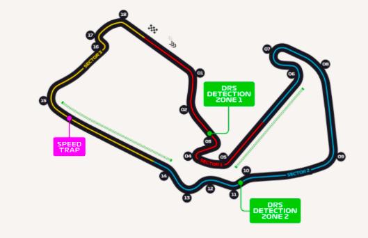 FÓRMULA 1: GP de Gran Bretaña | Este es el circuito de Silverstone