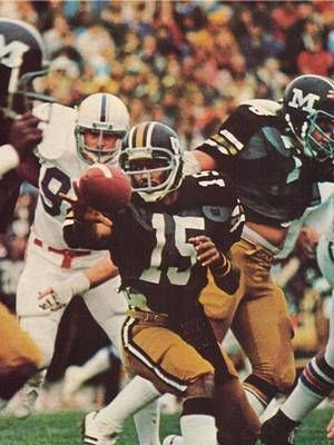 Mizzou Qb #15 Phil Bradley played many years in MLB. I saw him with the  Mariners , I was Stationed @ McChord A.…   Mizzou football, Vintage football,  Tiger football