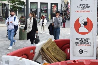 Vanaf 1 oktober coronapas nodig voor café- of restaurantbezoek in Brussel
